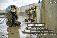 WIRE SAWING HIGH PRODUCTIVITY